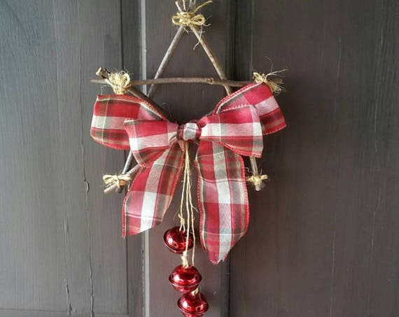 Yule Decorations, Rustic Door Décor, Pagan, Yule, Decorations, Christmas Ornament, Custom Ornaments, Yule Tree Decoration, housewarming gift