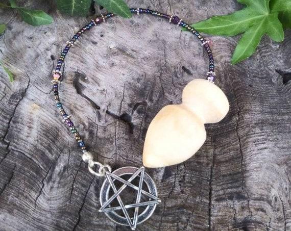Poplar Pendulum, Poplar Wood, Poplar Wood Pendulum, Dowsing Pendulum, Witchcraft, Occult, Divination, Pendulum