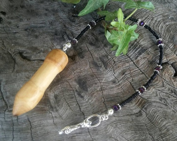 Alder Dowsing Pendulum - Alder Wood Pendulum - Alder - Dowsing - Pendulum - Witchcraft - Occult - Pendulum Dowsing - Wood Pendulum