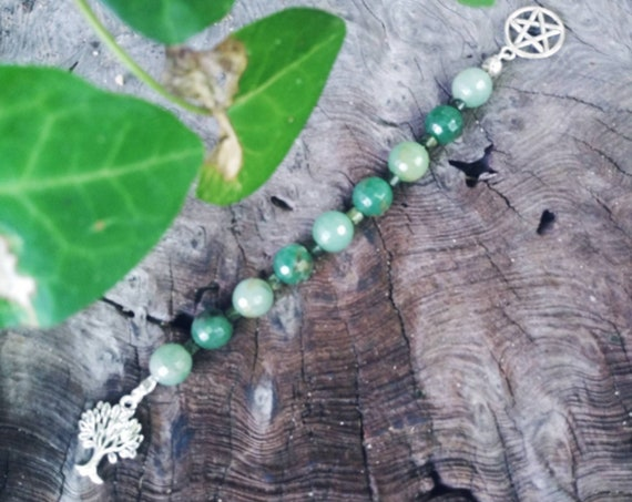Gaia Prayer Beads, Mother Earth, Tellus
