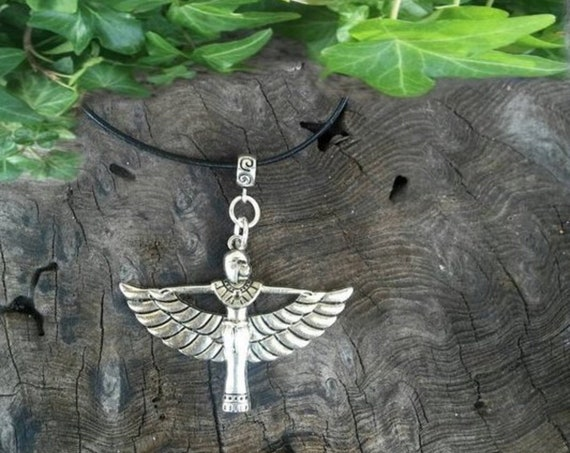 Goddess Isis Pendant, Isis Necklace