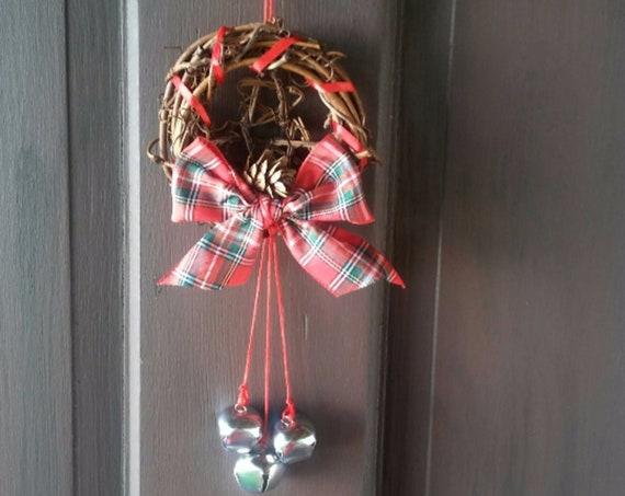 Xmas Door Wreath, Pagan Yule Décor