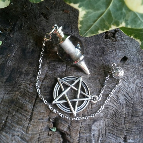 Smoky Quartz Dowsing Pendulum - Smoky Quartz Pendulum - Dowsing Pendulum - Dowsing - Divination - Crystal Pendulum - Witchcraft Supply
