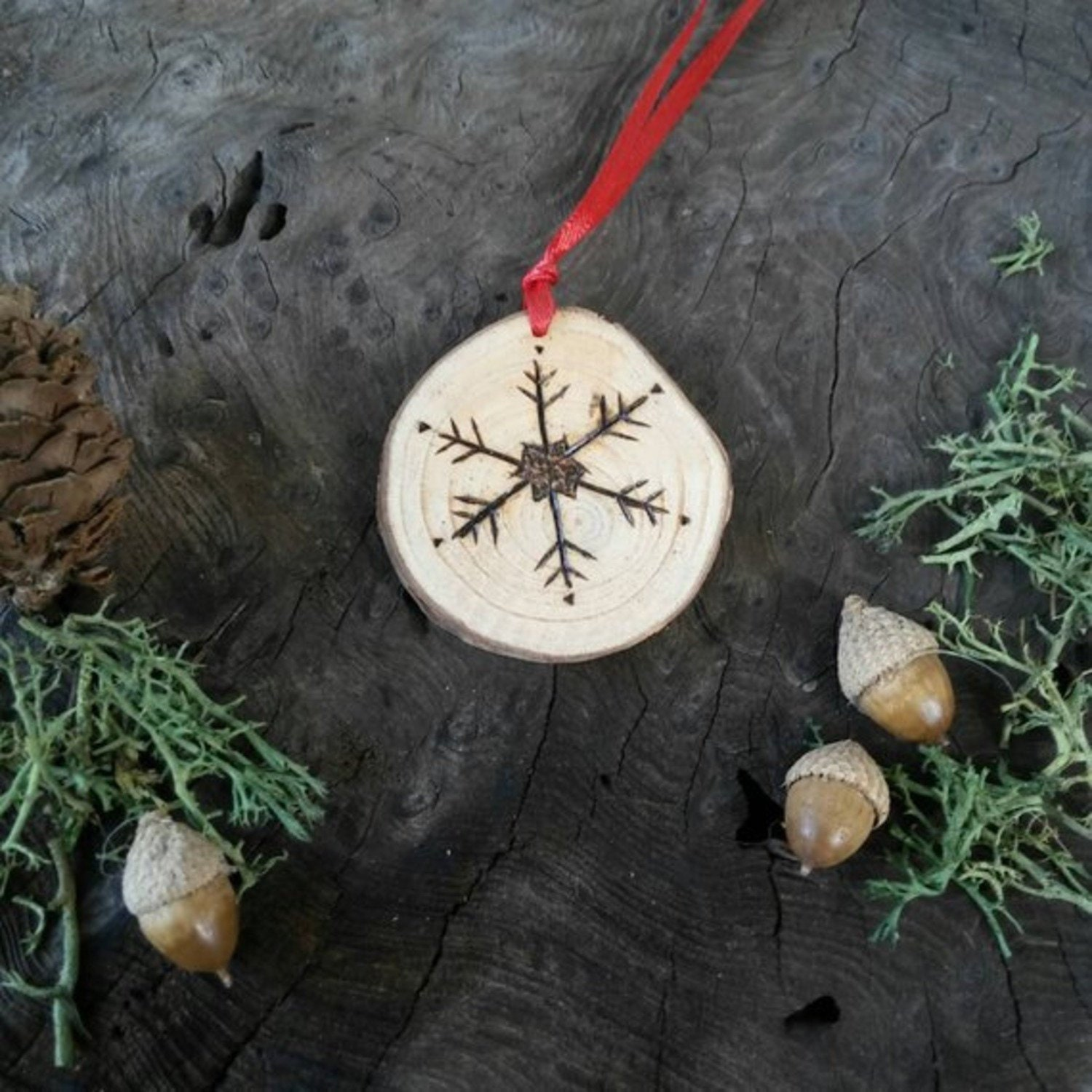 Pagan Christmas Tree.Cinnamon Yule Decoration Yule Decorations Yule Gifts