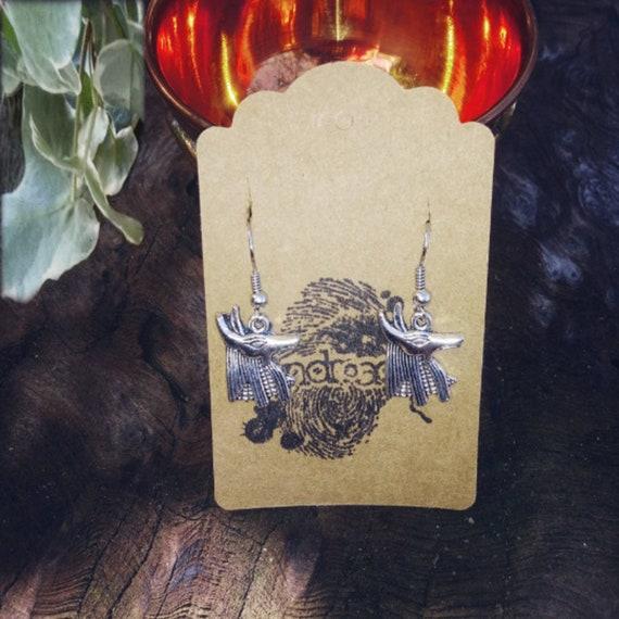 Anubis Earrings, Anubis Jewellery
