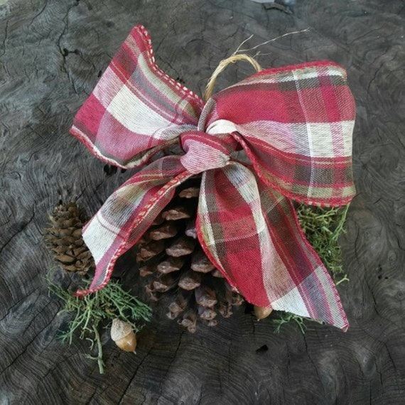 Pine Cone Christmas Decoration, Yule Decorations, Pagan Christmas, Tree Decorations, Tree Ornaments, Pine Cone Decoration, Pine Cones