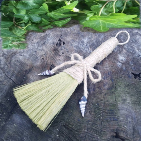 Sea Witch Broom, Witches Altar Broom, Small Broom
