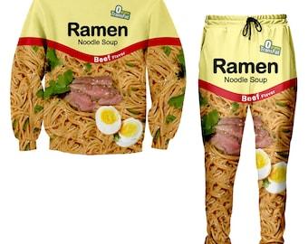 Noodle Pants Tracksuit Jogger Noodle Ramen Beef Noodle Ramen Sweatshirt Ramen ApcaO