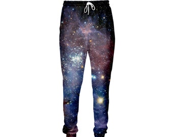 ce72f7b67859c Girls Childrens Awesome Blue Galaxy Space Universe Print Leggings ...