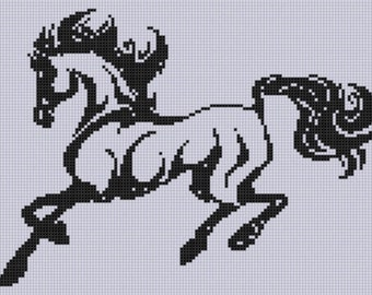 Horse 13 Cross Stitch Pattern