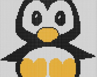 Penguin Cross Stitch Pattern