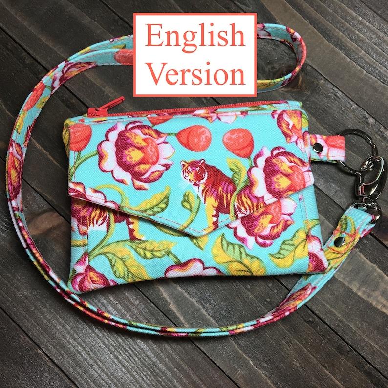 The Kristine ID Wallet pdf Pattern ENGLISH VERSION image 0
