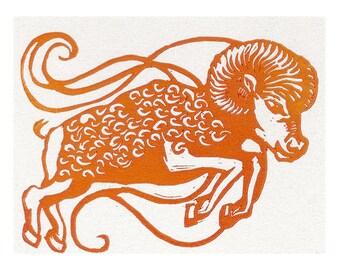 Aries Notecard