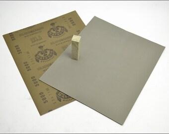 Free Shipping Chinese Calligraphy Material  28x23cm Matador Abrasive Paper Sandpaper 500# - Waterproof / Seal Stone Polishing / - 0012