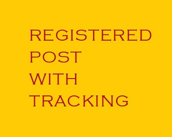 Chinese Calligraphy Material  Registered Post Ticket Worldwide