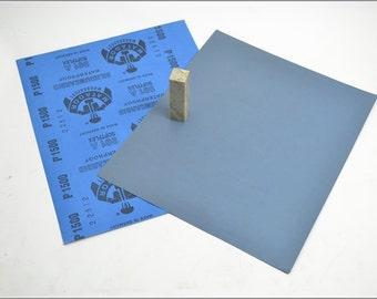 Free Shipping Chinese Calligraphy Material  28x23cm Matador Abrasive Paper Sandpaper 1500# - Waterproof / Seal Stone Polishing / - 0004