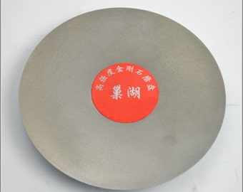 Free Shipping Chinese Calligraphy Material  150mm Disk Diamond Grinder 1500# / Seal Stone Polishing / Seal Cutting Seal / - 0002