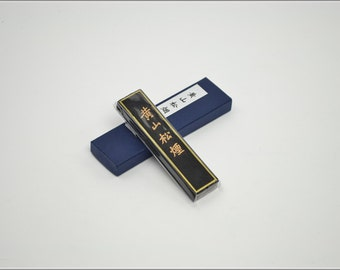 Free Shipping Chinese Calligraphy Material  Hu Kaiwen Pine Soot Ink Stick Ink Block / HSSY - 31g- 0004P