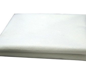 Free Shipping Chinese Calligraphy Material  0.5x1m Wool Felt / Wool Felt Pad / Wool Felt Mat - Wool Blend - Natural White -  0001