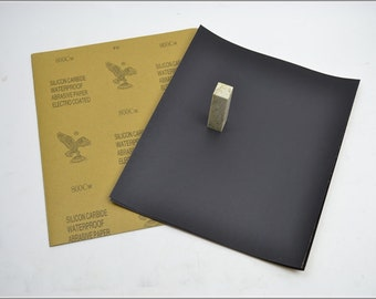 Free Shipping Chinese Calligraphy Material  28x23cm Eagle Abrasive Paper Sandpaper 800# - Waterproof / Seal Stone Polishing / - 0009