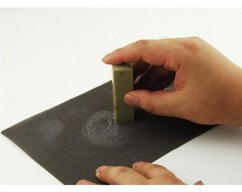 Free Shipping 22x15cm Matador High Abrasive Paper Net Sandpaper - Waterproof / Seal Stone Polishing / Chinese Calligraphy Material  - 0031
