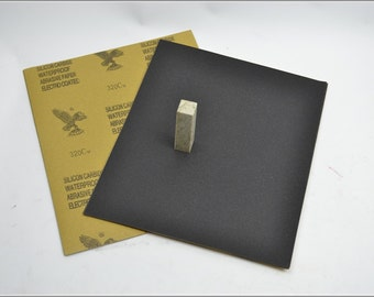 Free Shipping Chinese Calligraphy Material  28x23cm Eagle Abrasive Paper Sandpaper 320# - Waterproof / Seal Stone Polishing / - 0016