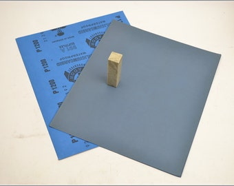 Free Shipping Chinese Calligraphy Material  28x23cm Matador Abrasive Paper Sandpaper 1200# - Waterproof / Seal Stone Polishing / - 0005