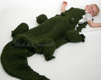 Alligator blanket