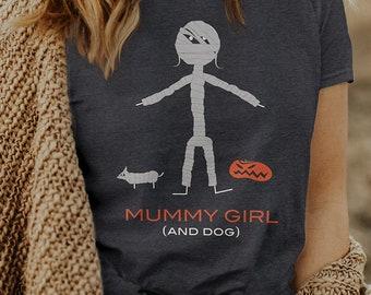 Women's Funny Mummy T-Shirt, Halloween Gifts Girls - Mummy Gift - Womens Halloween Shirt - Girls Mummy Shirt - Mummy Tee