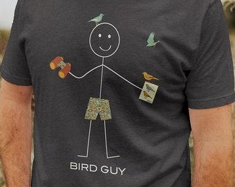 Funny Mens Birding T-Shirt, Boys Birdwatching Gifts - Birder Gift - Birdwatcher Shirt - Birding Gift - Birder Apparel - Birder Tee