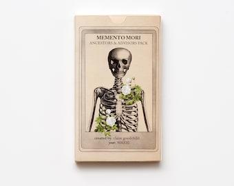 Ancestors & Advisors Expansion - Memento Mori Oracle, Oddities Deck, Oracle Cards, Anatomy Tarot Deck, Tarot Deck, Anatomy Oracle