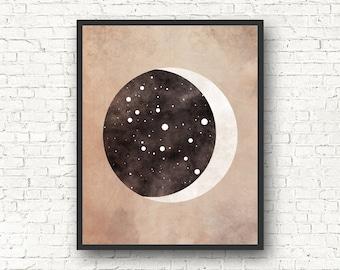 Virgo Constellation, Wall Art Prints, Art Print Poster, Virgo Art, Virgo Zodiac, Zodiac Print, Zodiac Sign