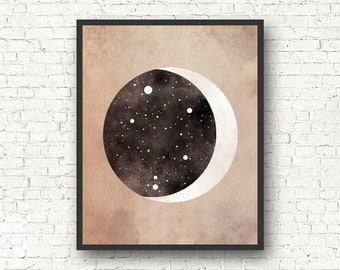 Libra Constellation, Wall Art Prints, Art Print Poster, Libra Art, Libra Zodiac, Zodiac Print, Zodiac Sign