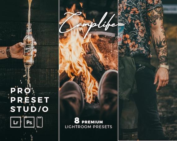 Pro Preset Studio 6 Camplife Presets for Lightroom desktop and Lightroom mobile and Photoshop