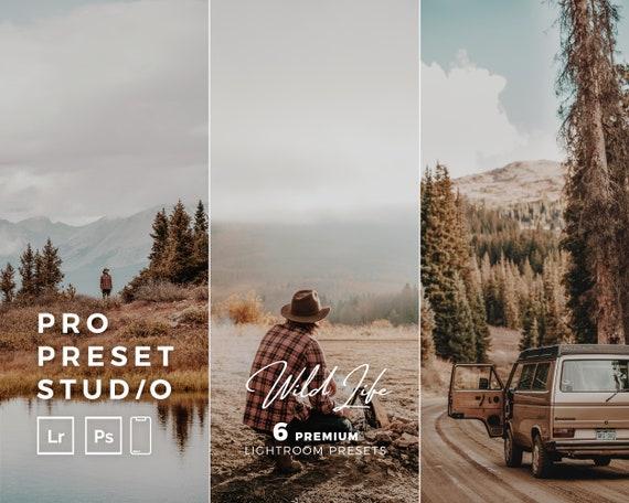 Pro Preset Studio 6 Wildlife Presets for Lightroom desktop and Lightroom mobile and Photoshop