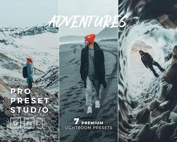 Pro Preset Studio 7 Adventures Presets for Lightroom desktop and Lightroom mobile and Photoshop