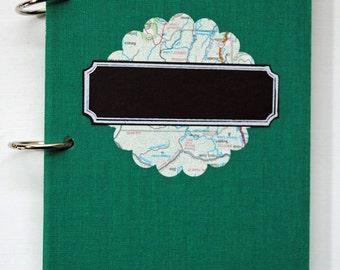 Altered Book Travel Journal, Mini Album, Memory Book