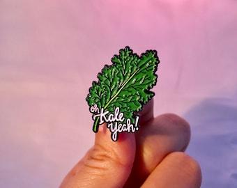 Oh Kale Yeah - Enamel Pins