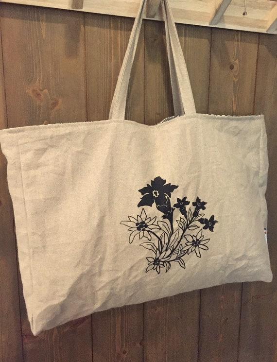 EDELWEISS linen bag