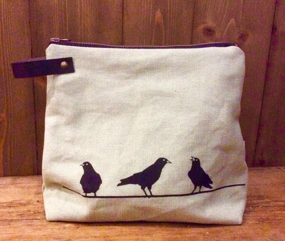 JACKDAW clutch bag