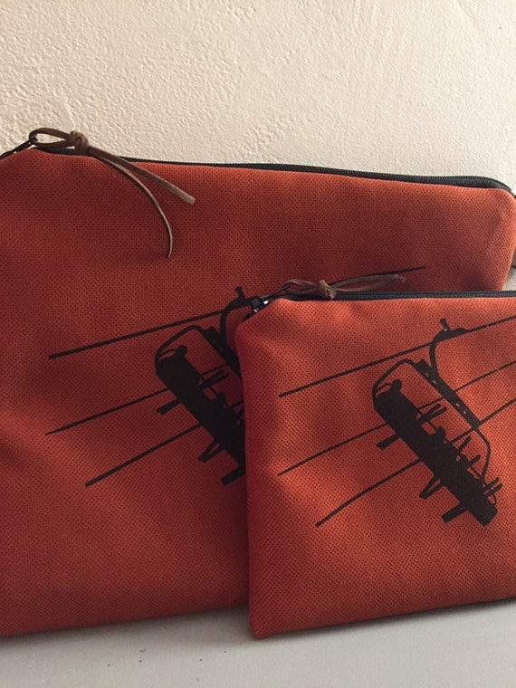 Large CHAIRLIFT Pouch