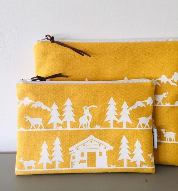 Yellow POYA pouch