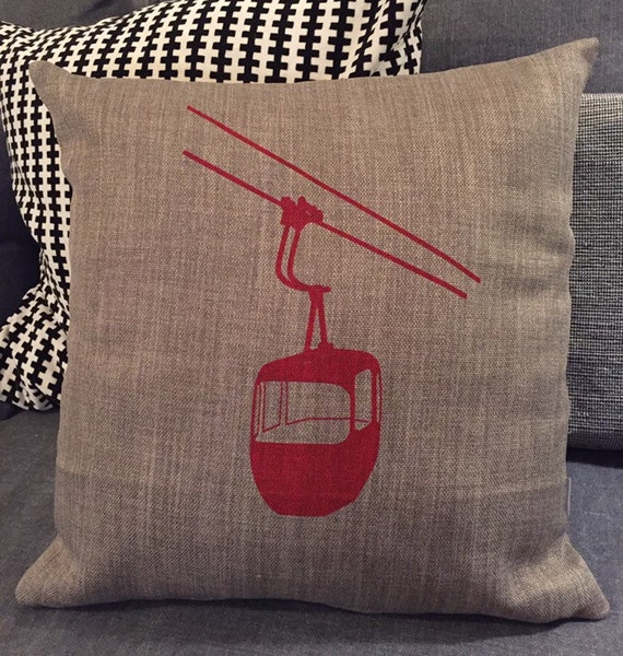 Red DIABLERETS cushion