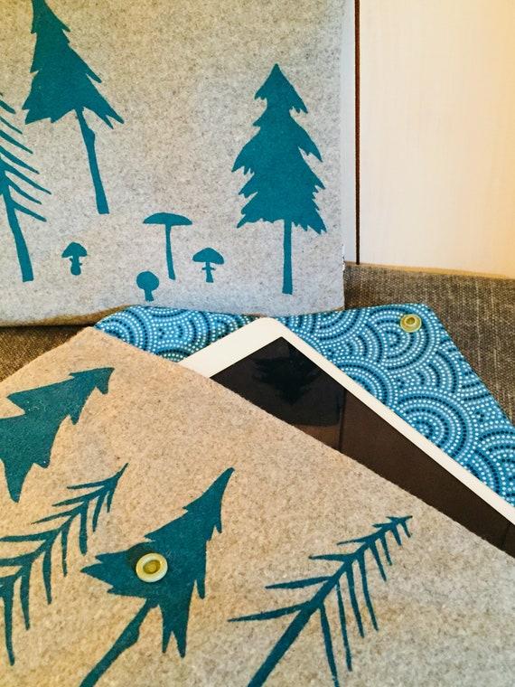 FOREST blue mini Ipad cover