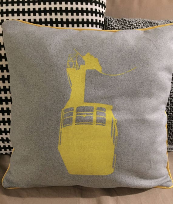 Yellow cable cushion
