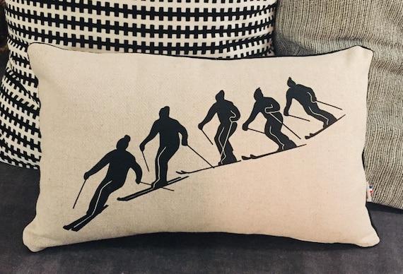 Rectangle cushion SKIER