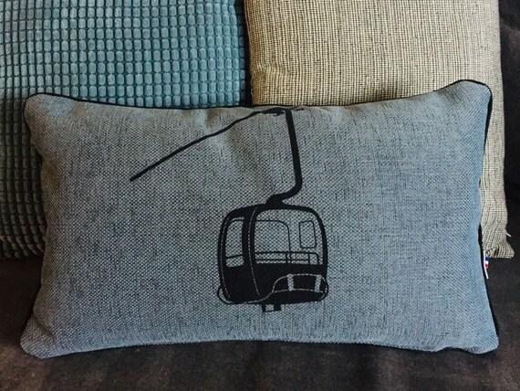 Blue cushion MONTJOIE