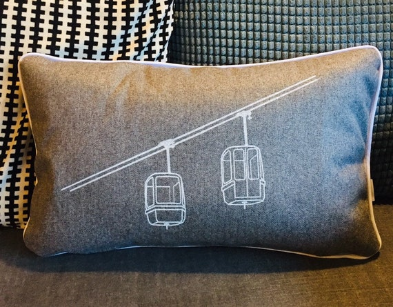 La CLUSAZ Grey Cushion