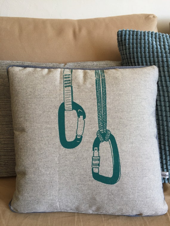 Grey cushion CARABINERS