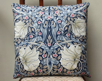 "William Morris Pimpernel Cushion Cover 16"" x 16"" - Sanderson Fabric"